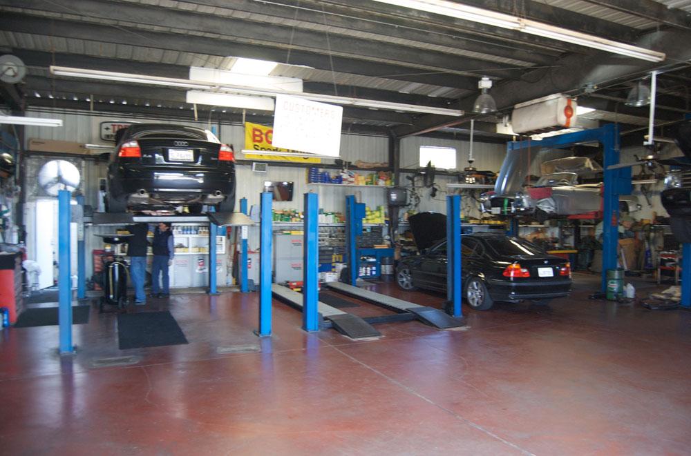 dr auto tech visit  auto shop