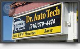 Dr Auto Tech 6th St Sign