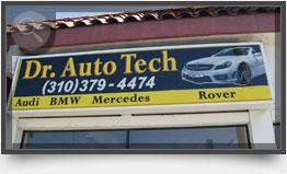 Dr Auto Tech PCH Sign