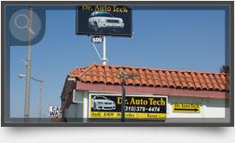 Hermosa Beach Auto Shop Front